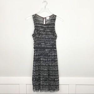 Anthropologie Postmark Black & White Dress XS
